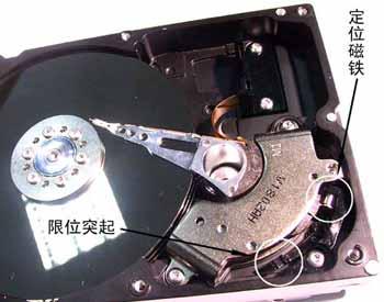 硬盘电机马达接线图